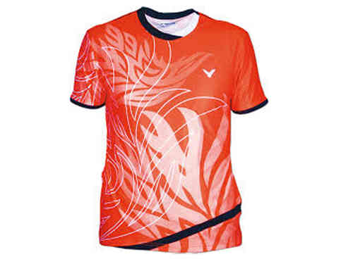 Victor shirt Korea open unisex orange 66323