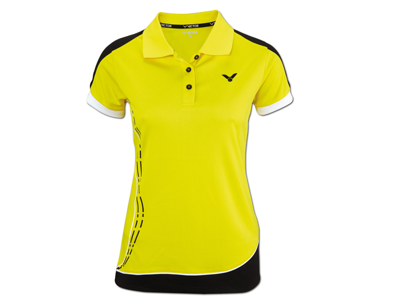 racketstar_Kleidung_Victor_Polo_function_female_yellow_front_6165_2_616